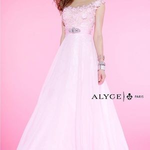 Alyce Paris Soft Pink Prom/Evening Gown Style 6397